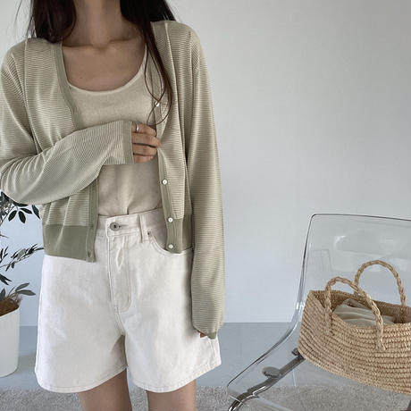 VEGETABLE cream half pants(即納)