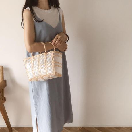 natural pvc bag(S 即納)