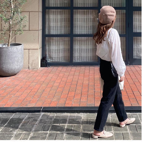VEGETABLE emma black Jeans(即納)