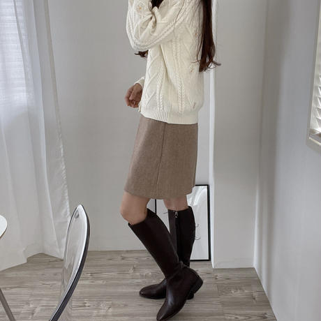 leather long boots(即納)