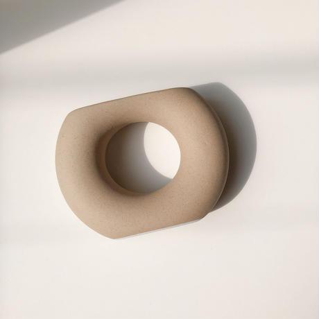 ring flower base (ベージュ・即納)