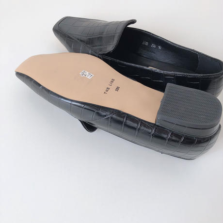 square toxu leather loafer(即納)