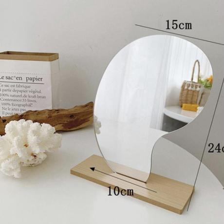 mini bean mirror(即納)