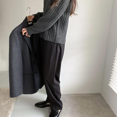 ounce v neck knit(即納)
