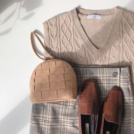mesh hand cross bag(即納)