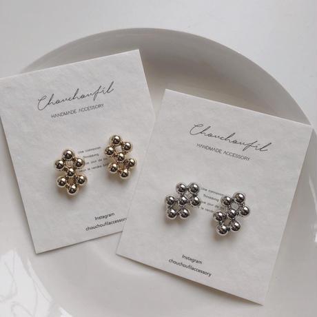 beads bubble earring