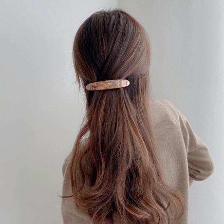 vintage marble hair barrette