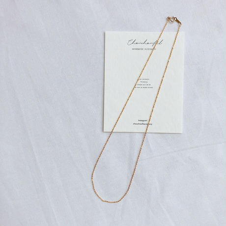 simple choker necklace(14kgf)