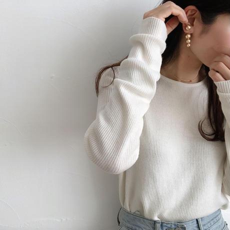 ball back range earrings