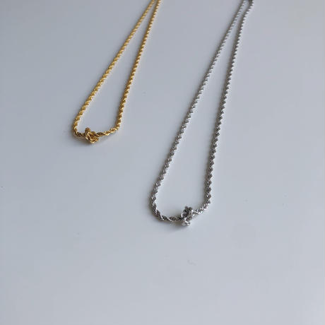 rope choker necklace