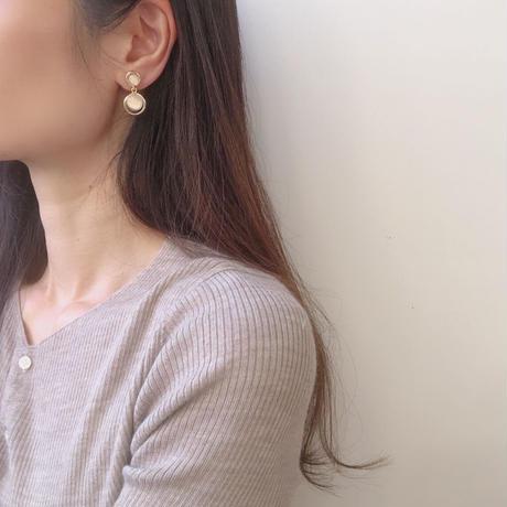opal swing earring