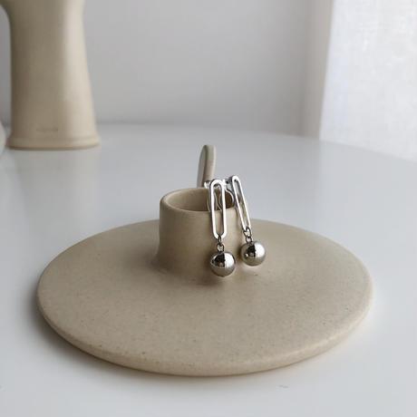 swing ball earrings