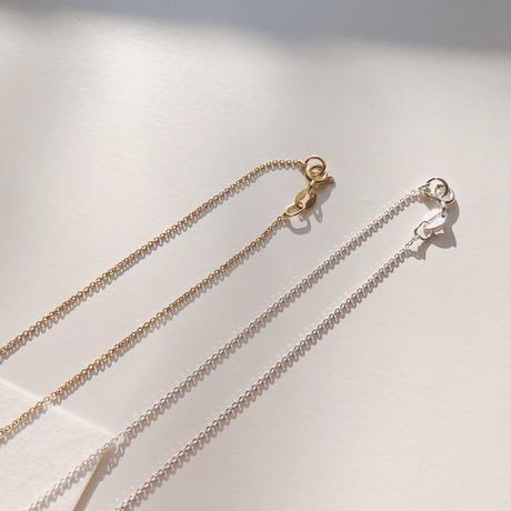 ball necklace(silver925)