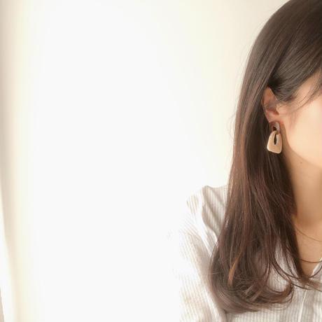 marble swing earring