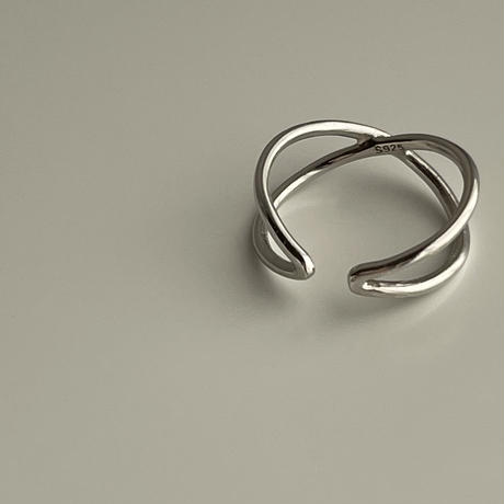 cross ring(silver925)