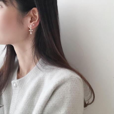earring 4set(cross)