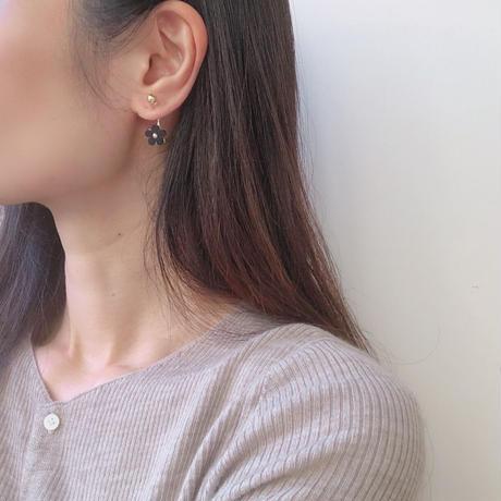 flower swing earring