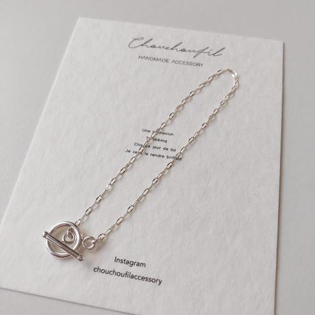 simple silver bracelet(silver925)