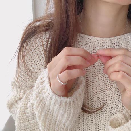 short bar necklace(silver925)