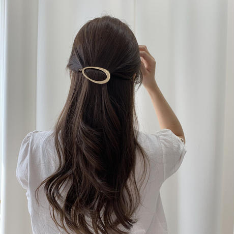 oval hairpin