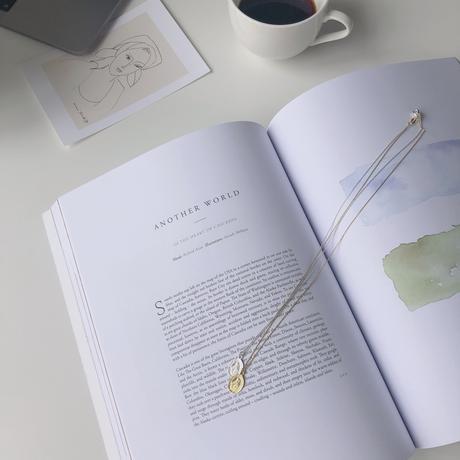Maria médaille necklace(silver925)