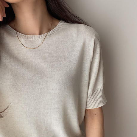 snake chain necklace(14kgf)