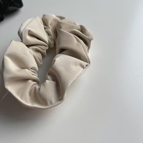 leather chou chou(set)