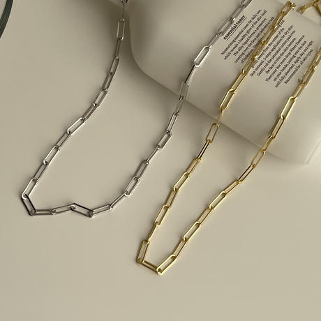 chain net necklace(silver925)