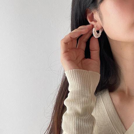 range fresh pearl earrings