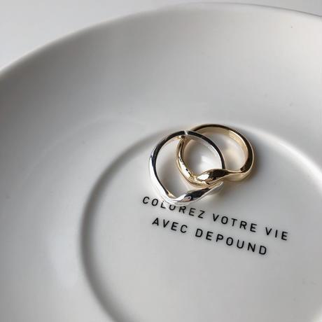 deux wave ring