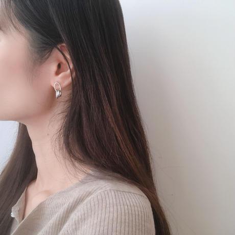earring 4set(hoop)