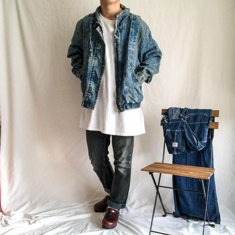 1980's~1990's swiching design denim jacket