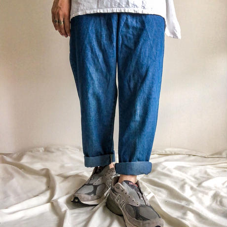 ~1990's denim easy pants made in USA