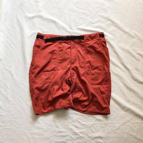 patagonia terracotta color nylon shorts