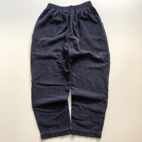 1990's~ cropped corduroy easy pants