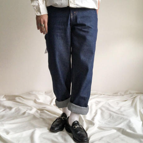 "NOS 1990's~ ""WILD ASS"" denim painter pants made in USA"