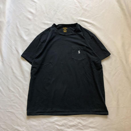 Polo Ralph Lauren black pony embroidery S/S tee