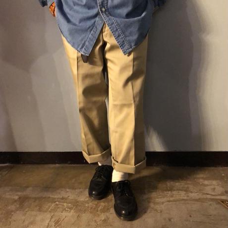 NOS Vintage 1970's BIGMAC センタープレス入り チノパンツ / 古着 ビンテージ