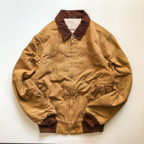 ~1980's corduroy collor duck work jacket made in USA
