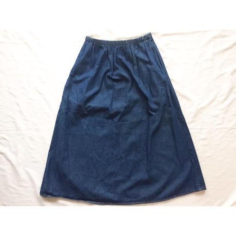 80s~ USA製 デニムスカート/古着 ビンテージ
