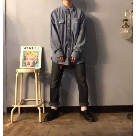 RRL ダブルアールエル シャンブレーシャツ / 古着 ビンテージ