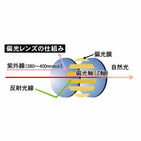 EVERLASTスポーツサングラス(偏光レンズ) メタリックシルバー EL-001