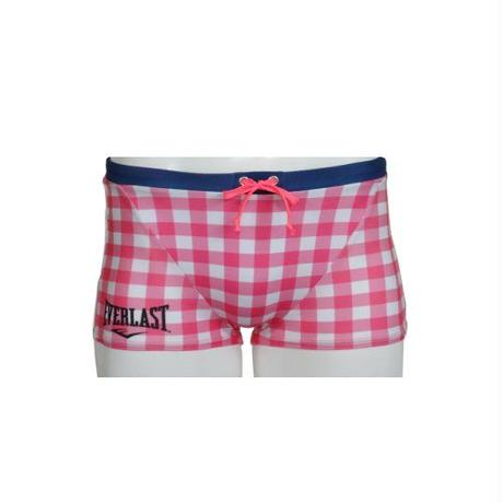 GINGHAM CHECK SHORT BOX(PINK)EL52926