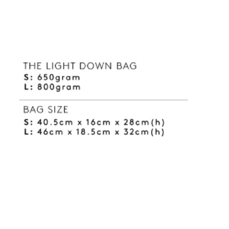 The Light Down Bag_Small Size