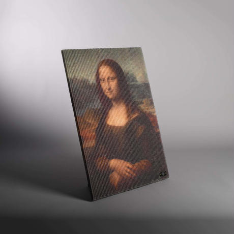 Copycat Art Scratcher – Mona Lisa