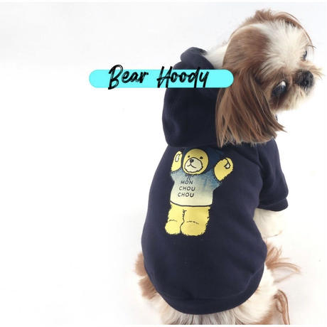 Bear Hoody for dog