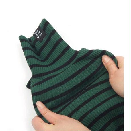 Daily Stripe All-in-one   Green/black