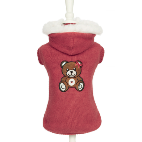 Art 3109 pull Teddy in red