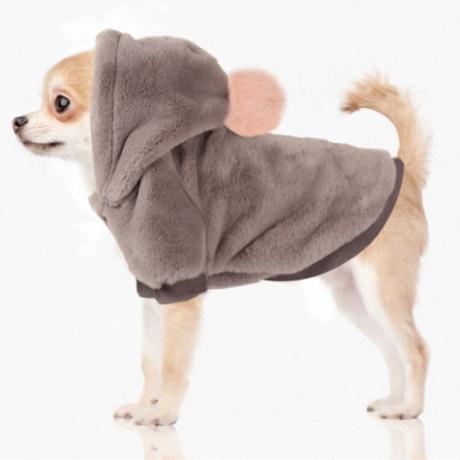 Grey Yelena Faux Fur Hoodie 35/38