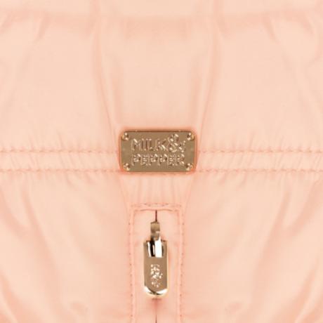 Grey/Pink Enya Reversible Puff Jacket 35/38/41